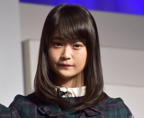 『Yahoo!検索大賞2017』発表会に出席した欅坂46・石森虹花 (C)ORICON NewS inc.