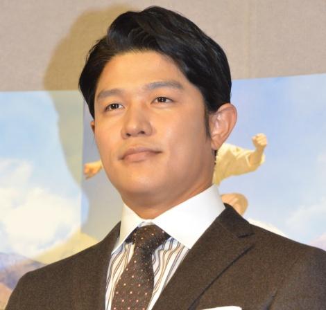 特番制作が発表されたNHK『西郷どん』に主演する鈴木亮平=第一回試写会 (C)ORICON NewS inc.