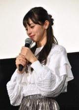 思わず涙を見せる中条あやみ (C)ORICON NewS inc.