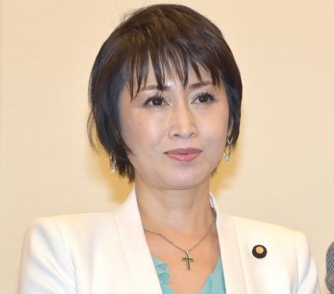 現状報告会『チケット高額転売に関する法規制について』に出席した三原じゅん子 (C)ORICON NewS inc.