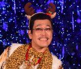 「3年後の東京オリンピックに出たい」と野望を話したピコ太郎=『青山クリスマスサーカス by avex』イルミネーション点灯式 (C)ORICON NewS inc.