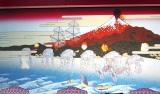 映画『スター・ウォーズ/最後のジェダイ』に記者会見で公開された浮世絵動画 (C)ORICON NewS inc.