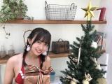 サンタ姿を披露したSUPER☆GiRLS渡邉幸愛