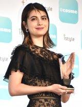 『ベストビューティストアワード』で「ベストビューティスト」を受賞したマギー (C)ORICON NewS inc.