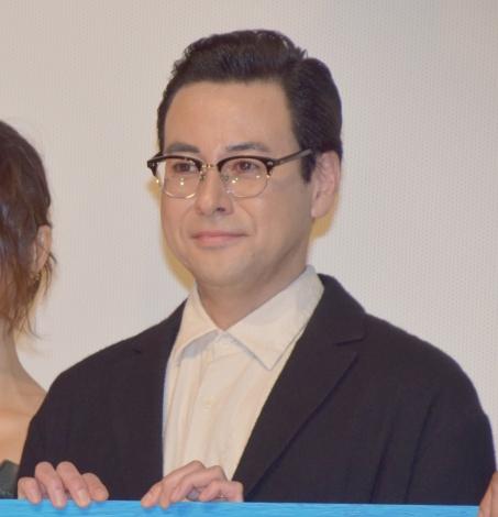 映画『ビジランテ』初日舞台あいさつに登壇した鈴木浩介 (C)ORICON NewS inc.