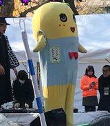 『アキバ★エンタメマラソン2017 ご当地キャラクター・スポーツ祭り』に出席したふなっしー (C)ORICON NewS inc.