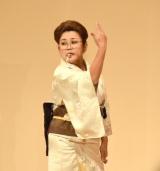 太田プロライブ『月笑』の年間王者を決めるクライマックスシリーズにゲストとして出演した山田邦子 (C)ORICON NewS inc.