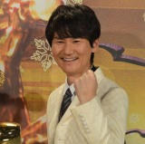 日本テレビ系正月特番「歌唱王」収録後代表質問に出席した南原清隆 (C)ORICON NewS inc.