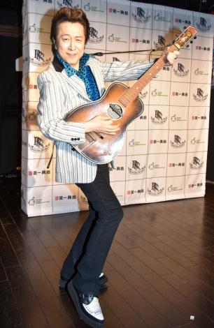 アルバム『原宿★ロックンロール★ヒーローズ』リリース記念イベントを開催した高橋ジョージ(C)ORICON NewS inc.