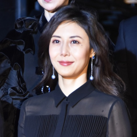 映画『祈りの幕が下りる時』のレッドカーペットイベントに出席した松嶋菜々子(C)ORICON NewS inc.