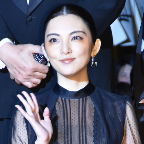 映画『祈りの幕が下りる時』のレッドカーペットイベントに出席した田中麗奈 (C)ORICON NewS inc.
