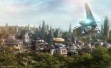 TDL「スター・ツアーズ:ザ・アドベンチャーズ・コンティニュー」に新登場する「最後のジェダイ」シーンのイメージ。 (C) Disney
