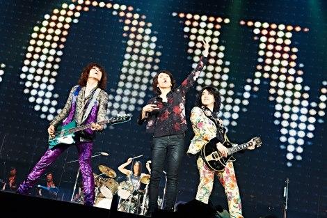 17年ぶりに東京ドーム公演を行ったTHE YELLOW MONKEY(PHOTO:KEIKO TANABE)