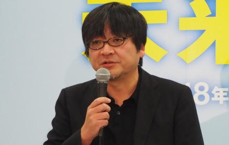 最新作『未来のミライ』についての会見に出席した細田守監督 (C)ORICON NewS inc.
