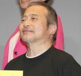 ミュージカル『HEADS UP!』初日公演前の公開ゲネプロ前の囲み取材に出席したラサール石井 (C)ORICON NewS inc.