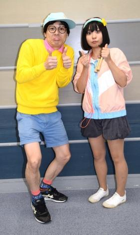 にゃんこスター(スーパー3助、アンゴラ村長)=『ネプ&ローラの爆笑まとめ! 2017 』収録取材 (C)ORICON NewS inc.