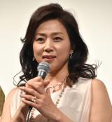映画『グッバイエレジー』の完成披露試写会に出席した藤吉久美子 (C)ORICON NewS inc.