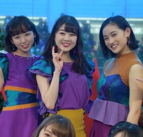 (左から)勝田里奈、中西香菜、佐々木莉佳子 (C)ORICON NewS inc.