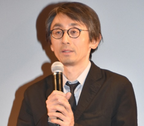 映画『羊の木』完成披露試写会に出席した吉田大八監督 (C)ORICON NewS inc.