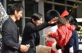 テレビ朝日単発ドラマ『DOCTORS〜最強の名医〜新春スペシャル』クリスマスイベントの模様 (C)ORICON NewS inc.