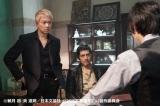 テレビ東京系ドラマ24『新宿セブン』最終回(12月22日放送)にオープニングテーマ曲を担当する東京スカパラダイスオーケストラのメンバー(左から)大森しのぶ、谷中敦がちょい役で登場