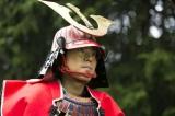 12月17日放送、NHK『おんな城主 直虎』第50回より。最終回にして、赤備えの井伊直政(菅田将暉)が登場(C)NHK