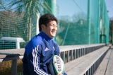 「J:COM TV」のインタビューに答えた東海大学ラグビー部・主将の野口竜司選手