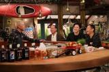 (左から)田村亮(ロンドンブーツ1号2号)、尾上徳松、尾上松也、岡村隆史(ナインティナイン)(C)カンテレ