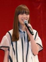 映画『嘘八百』完成披露試写会に出席した森川葵 (C)ORICON NewS inc.