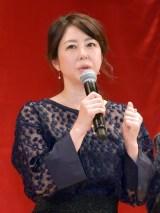 映画『嘘八百』完成披露試写会に出席した堀内敬子 (C)ORICON NewS inc.