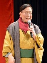 映画『嘘八百』完成披露試写会に出席した芦屋小雁 (C)ORICON NewS inc.