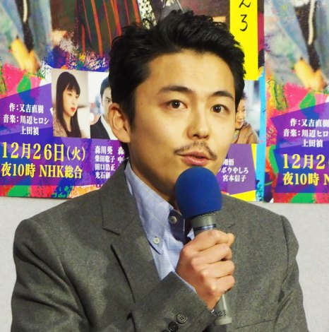 NHKドラマ『許さないという暴力について考えろ』試写会に出席した森岡龍 (C)ORICON NewS inc.