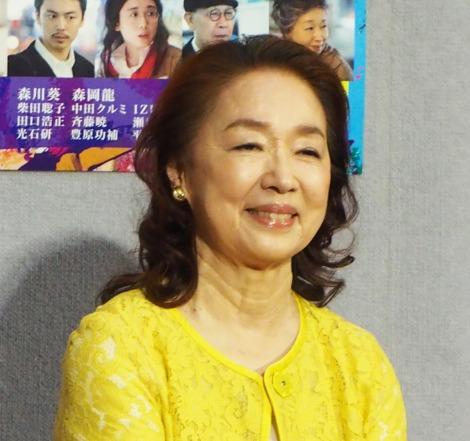 NHKドラマ『許さないという暴力について考えろ』試写会に出席した宮本信子 (C)ORICON NewS inc.