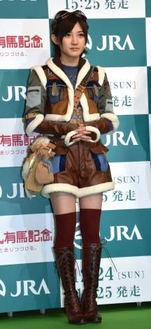 日本中央競馬会『MONSTER HUNTER:ARIMA@AKIHABARA』OPイベントに出席したAKB48・岡田奈々 (C)ORICON NewS inc.
