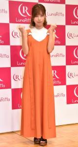 アプリ『LunaRitta(ルナリッタ)』の女性限定イベントに出席した有村藍里 (C)ORICON NewS inc.