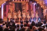 正式決定したメンバー7人による初「バンドワゴン」のパフォーマンス(C)テレビ朝日