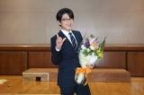 関西テレビ・フジテレビ系連続ドラマ『明日の約束』をクランクアップした及川光博 (C)関西テレビ