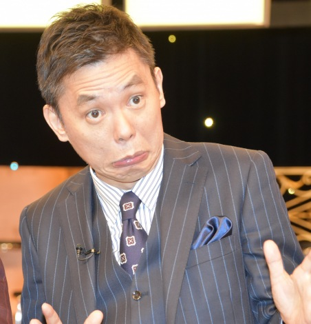 TBS系のスポーツ大型特番『KYOKUGEN』収録後の囲み取材に出席した爆笑問題の太田光 (C)ORICON NewS inc.