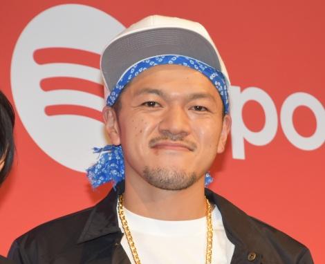 Spotify新TVCM発表会に出席したカミナリの竹内まなぶ (C)ORICON NewS inc.