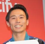 Spotify新TVCM発表会に出席したカミナリの石田たくみ (C)ORICON NewS inc.