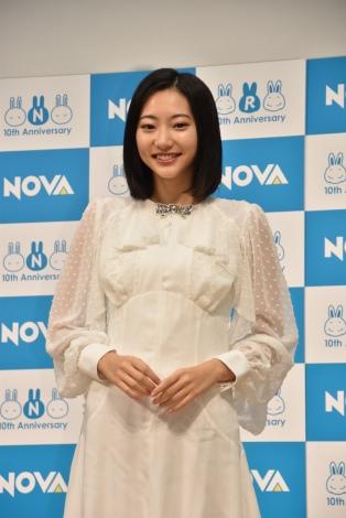 英会話スクール『NOVA』新CM発表会に出席した武田玲奈 (C)ORICON NewS inc.
