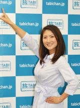 記者会見に番組サポーターとして出席した古瀬絵理アナ (C)ORICON NewS inc.