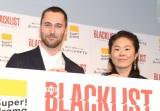 海外ドラマ『ブラックリスト シーズン5』のジャパンプレミアに出席した(左から)ライアン・エッゴールド、澤穂希さん (C)ORICON NewS inc.