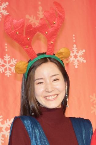 映画『鋼の錬金術師』クリスマス特別イベントに出席した蓮佛美沙子 (C)ORICON NewS inc.