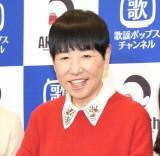 WOWOWプラス歌謡ポップスch『和田アキ子 デビュー50週年記念特集』取材会に出席した和田アキ子 (C)ORICON NewS inc.