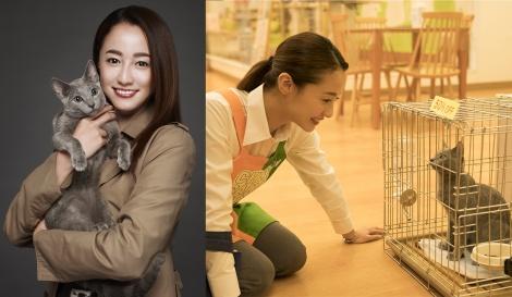『猫は抱くもの』で6年ぶりに映画主演を務める沢尻エリカ (C)2018 『猫は抱くもの』製作委員会