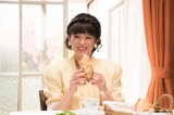 テレビ朝日系帯ドラマ劇場『トットちゃん!』黒柳徹子(清野菜名)(C)テレビ朝日