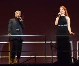 ミュージカル「4Stars 2017」舞台撮影会に出席した(左から)シンシア・エリヴォ、シエラ・ボーゲス (C)ORICON NewS inc.
