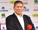 『第42回 報知映画賞』の特別賞を受賞した北野武監督 (C)ORICON NewS inc.
