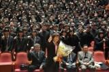 男子高校生ら約900人に講演を行ったダイアモンド☆ユカイ